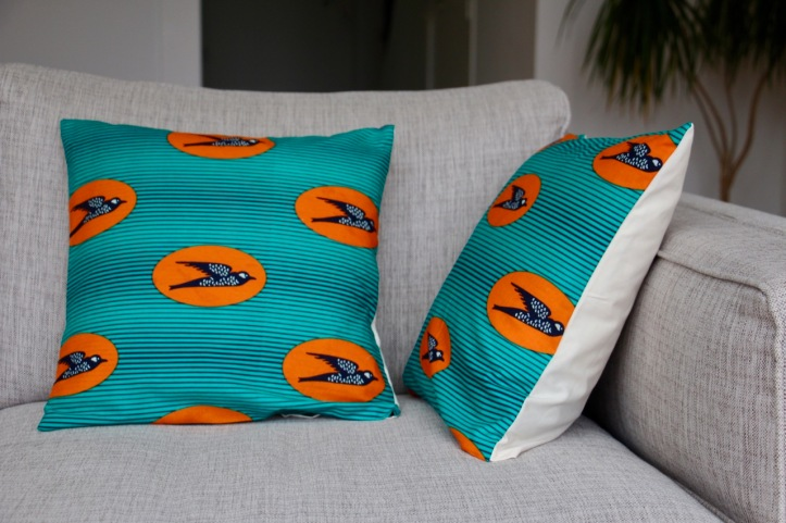 Housse coussin wax Birdy - 1