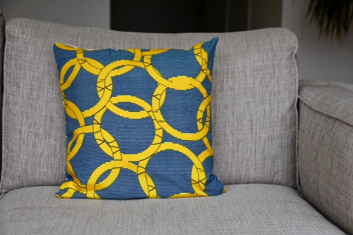 Housse coussin wax Olympics - 4