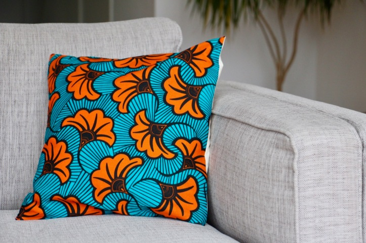 Housse coussin wax Tropical - 4