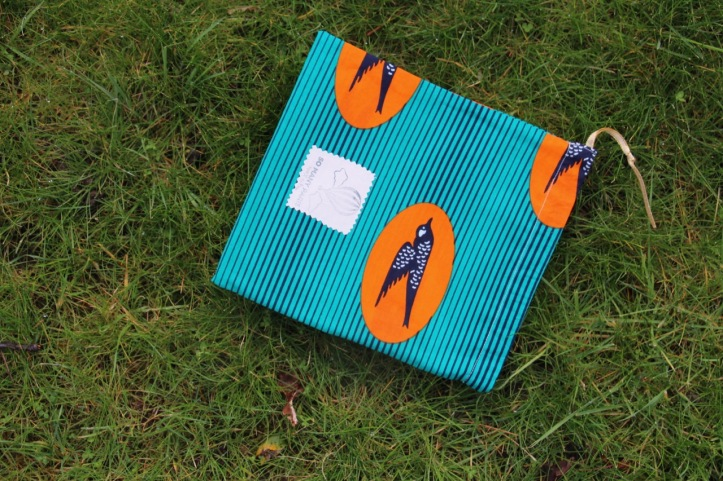 Pochette maillot wax Birdy - 2